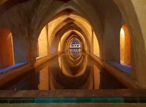 Bad der Maria de Padilla im königlichen Alcázar von Sevilla
