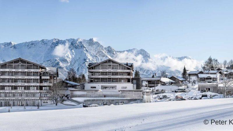 das Hotel Puradies in Leogang im österreichischen Pinzgau