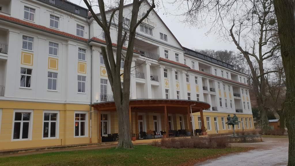 der Kaiserhof in Bad Liebenstein, Thüringen