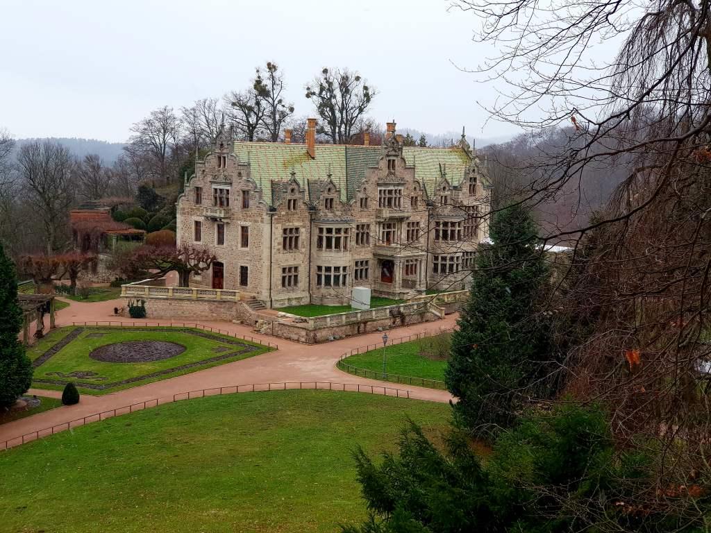 Schloss Altensteig bei Bad Liebenstein, Thüringen.