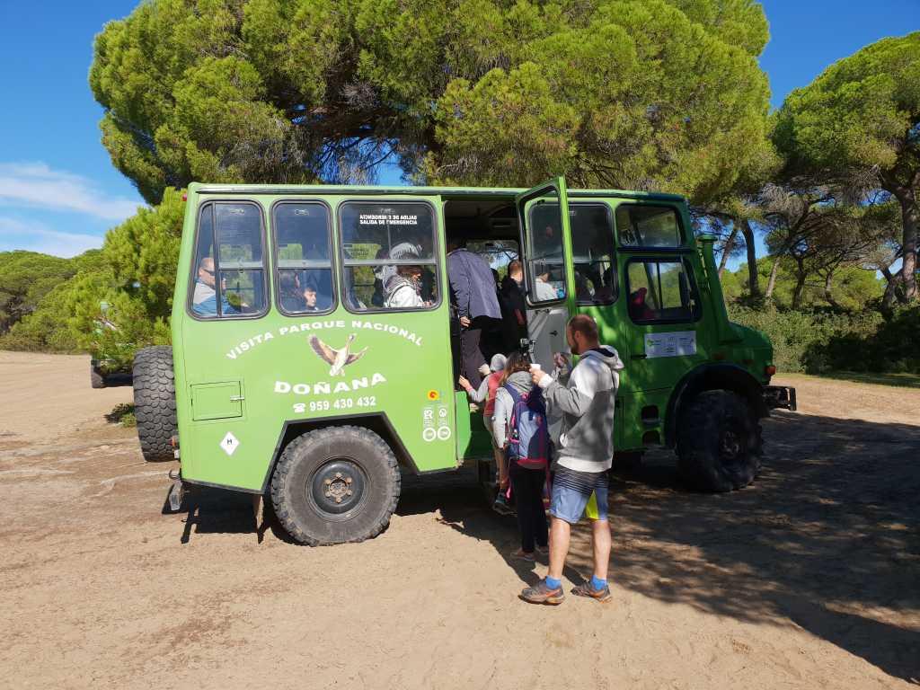 Impressionen aus dem Doñana-Nationalpark an der Costa de la Luz in Spanien.