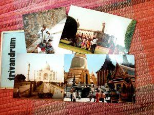Landkarten, Postkarten und Fotografien