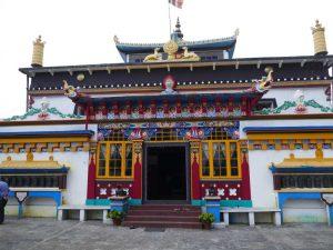 Tempel im indischen Ghoom.