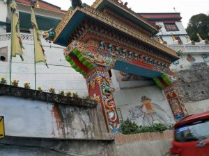 buddhistischer Tempel im indischen Darjeeling.