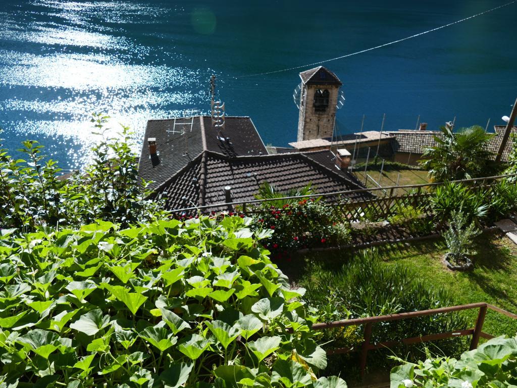 Gandria am Luganer See im Tessin, Schweiz.