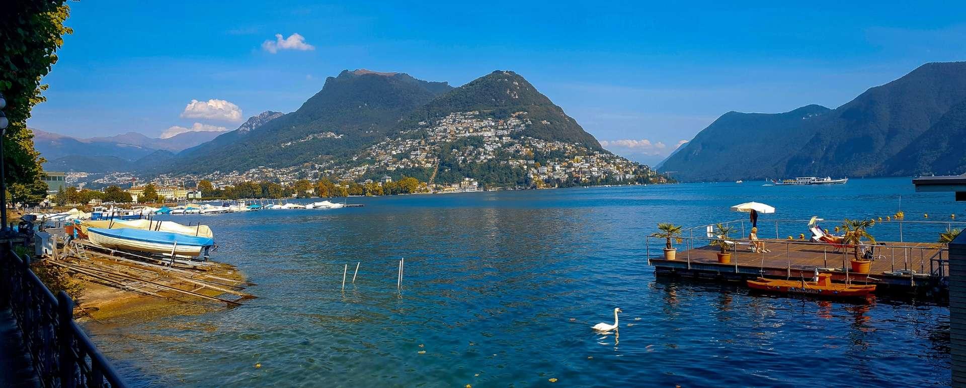 Lugano am Luganer See