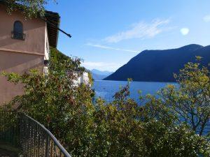 Impressionen vom Luganer See im Tessin. Schweiz