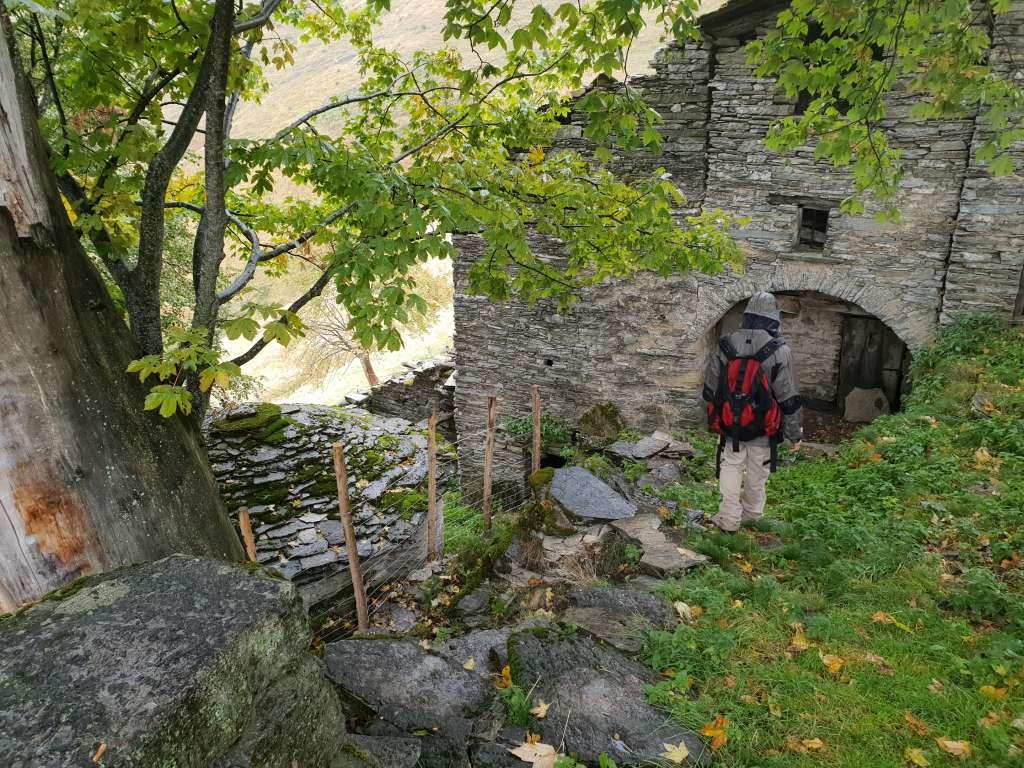 Nevere im Muggio-Tal unweit des Luganer Sees im Tessin., Schweiz