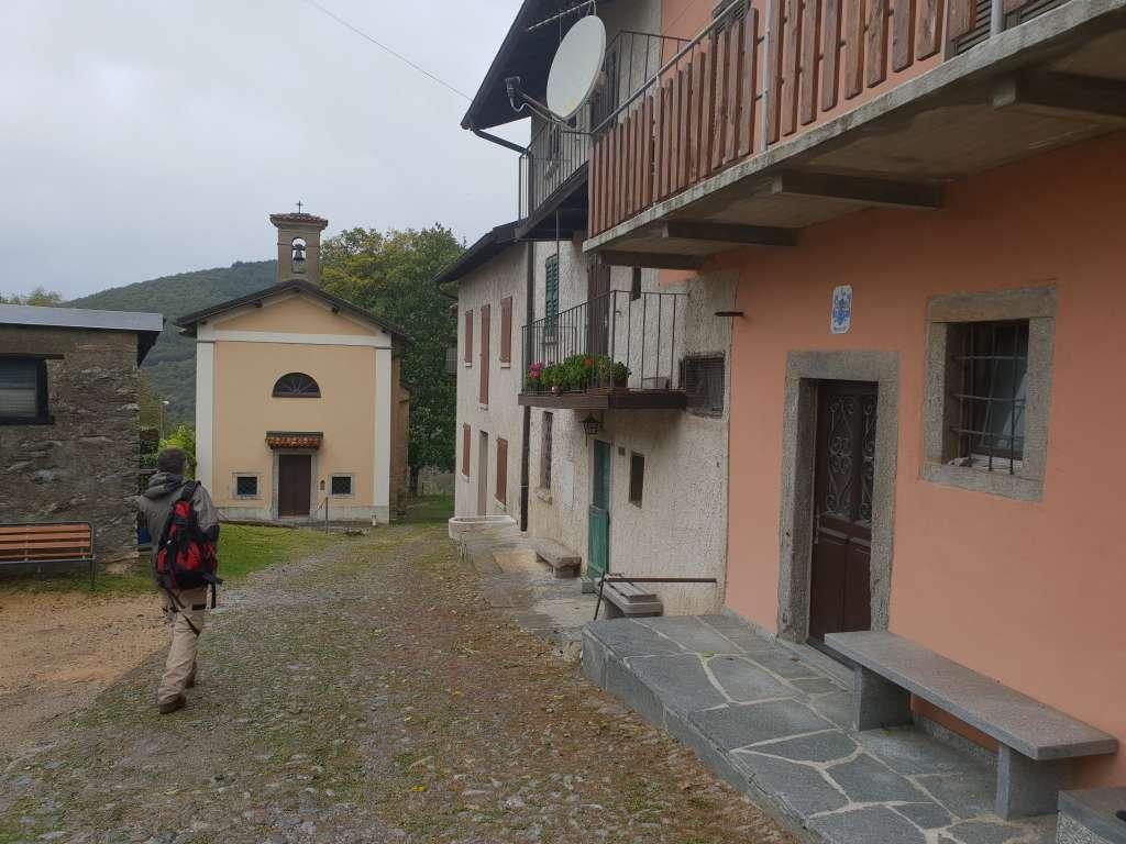 ein Dorf unweit des Luganer Sees im Tessin, Schweiz