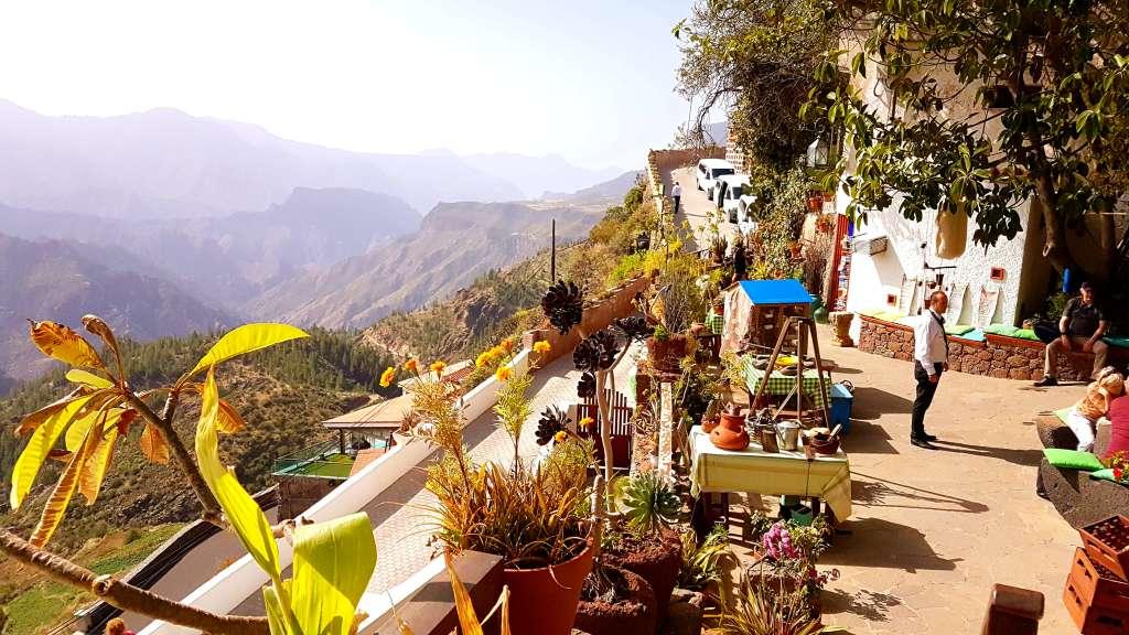 Höhlenmuseum von Artenaua auf der Kanareninsel Gran Canaria, Spanien