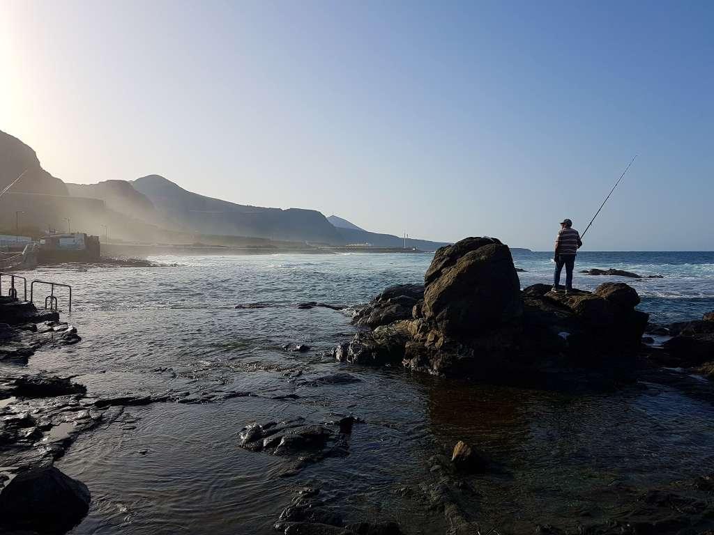 Strand im Norden der Kanareninsel Gran Canaria, Spanien