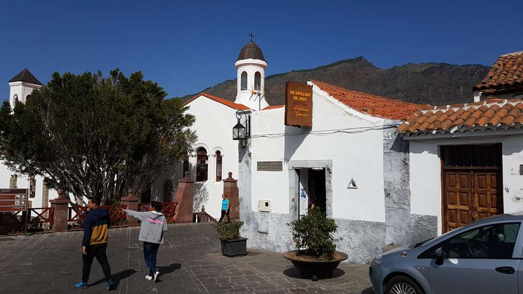 Ortsansicht von Tejeda auf der Kanareninsel Gran Canaria, Spanien