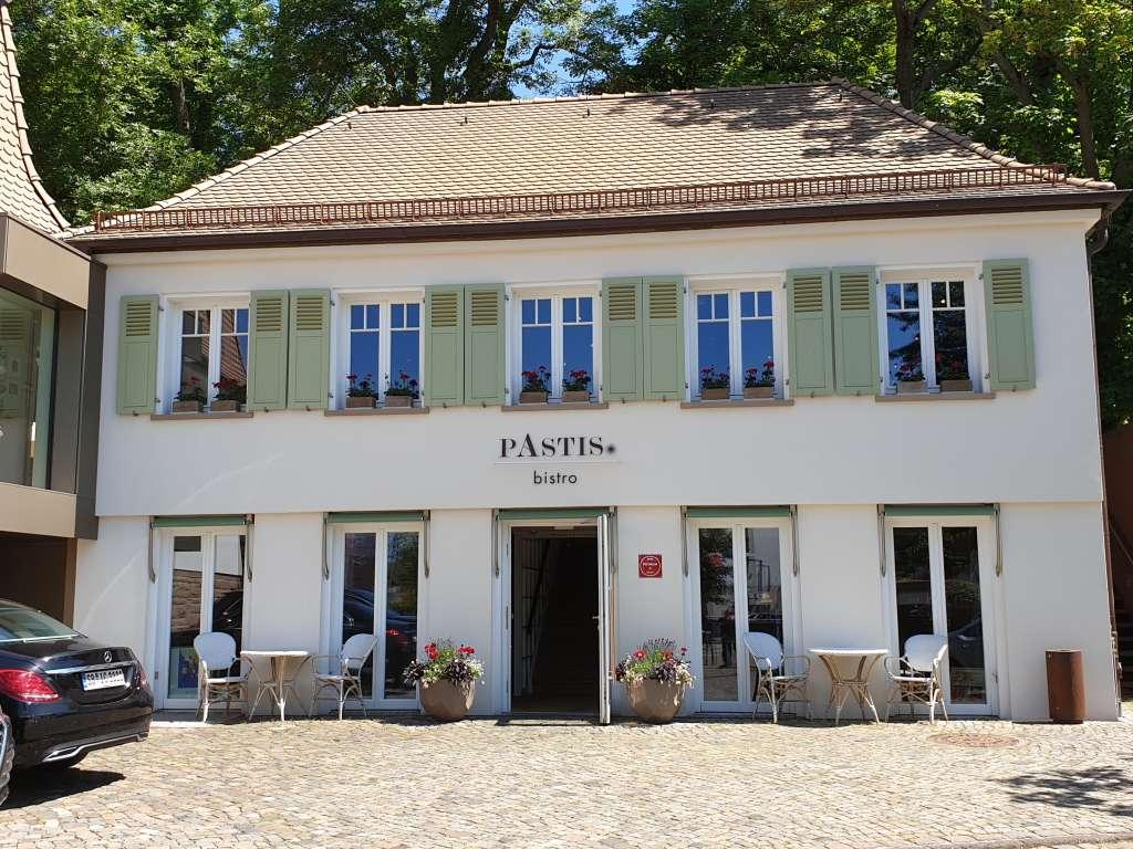 """Das Bistro """"Pastis im Hotel La Maison im saarländischen Saarlouis."""