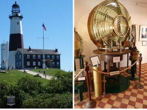 der Leuchtturm von Montauk auf Long Island, vor den Toren New Yorks.