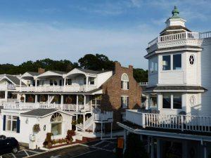 Hotel auf Long Island vor den Toren New Yorks.