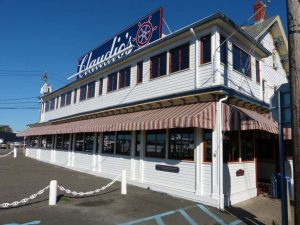 Restaurant Claudio`s in Greenport auf Long Island, vor den Toren New Yorks.