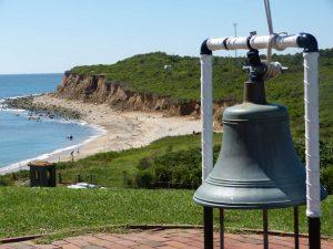 die Küste bei Montauk auf Long Island vor den Toren New Yorks