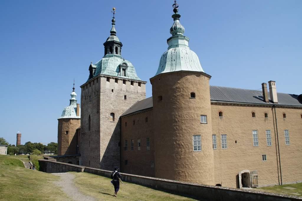 das Schloss von Kalmar in Schweden