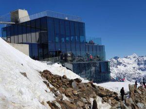 das Ice Q im Skigebiet von Sölden