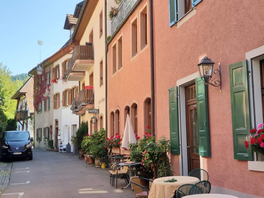 die Altstadt von Staufen
