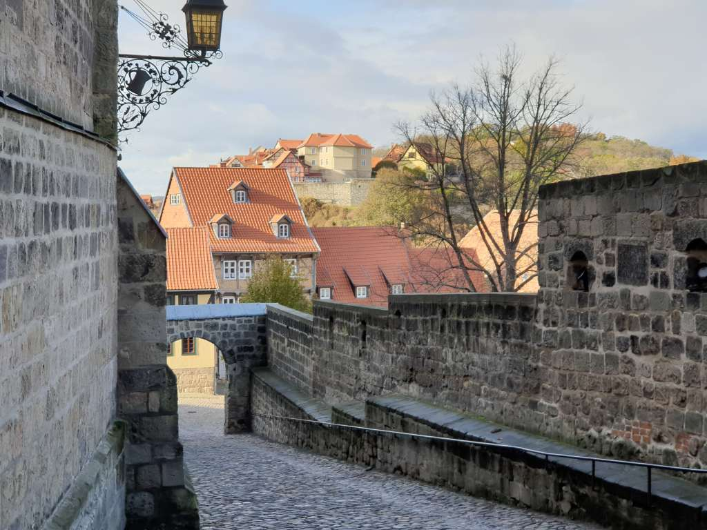 Schlossberg in Quedlinburg
