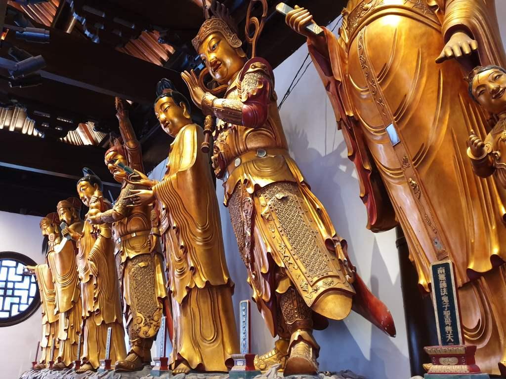 Fotoparade: ...der Jadebuddhatempel in Shanghai