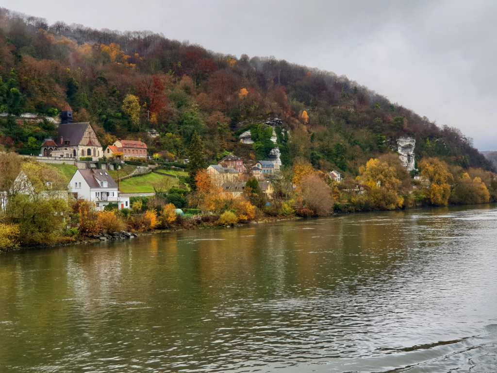 der Fluss Seine in der Normandie