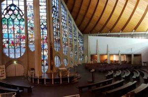 die Église Sainte-Jeanne-d'Arc in Rouen Frankreich