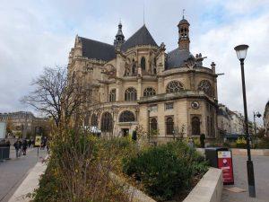 Die Kirche Saint-Eustache in Paris