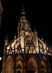 die katholische Kirche Saint-Maclou in Rouen, Frankreich