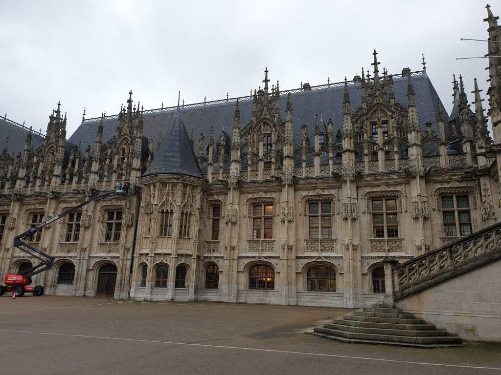 der Justizpalast von Rouen, Frankreich
