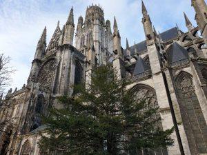 Die Abteikirche Saint-Ouen in Rouen Frankreich