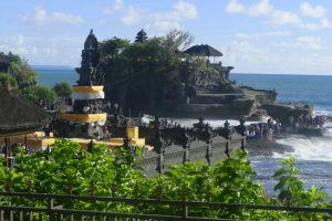 Tempel Tanah Lot auf Bali, Indonesien