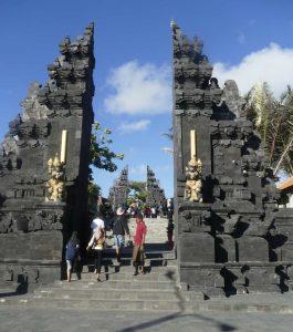 Tempel auf Bali, Indonesien