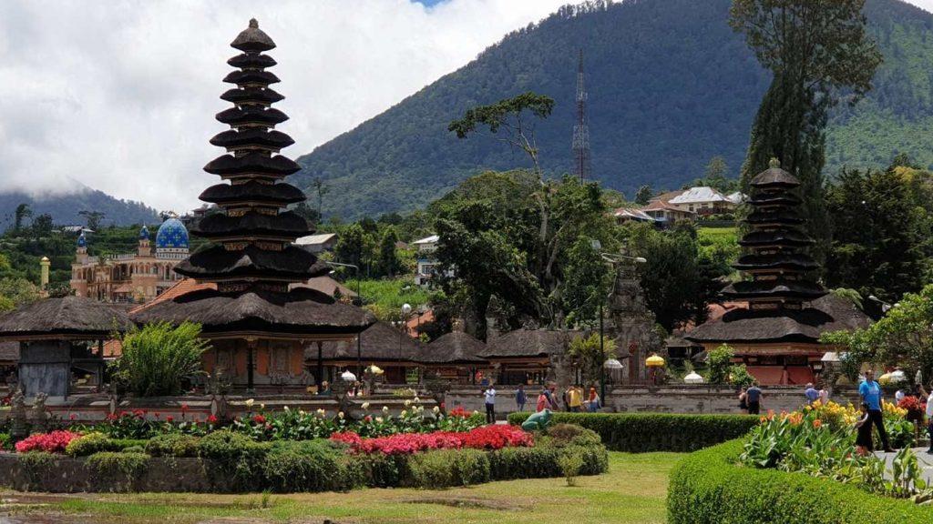 der Tempel Ulun Danu auf Bali