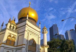 die Masjid Sultan im arabischen Stadtviertel von Singapur