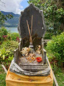 Hausaltar auf Bali