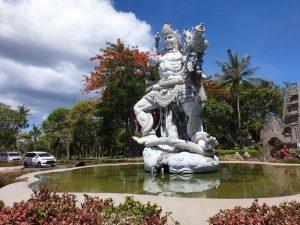 Nusa Dua ist einer der beliebten Baldeorte im Süden Balis.