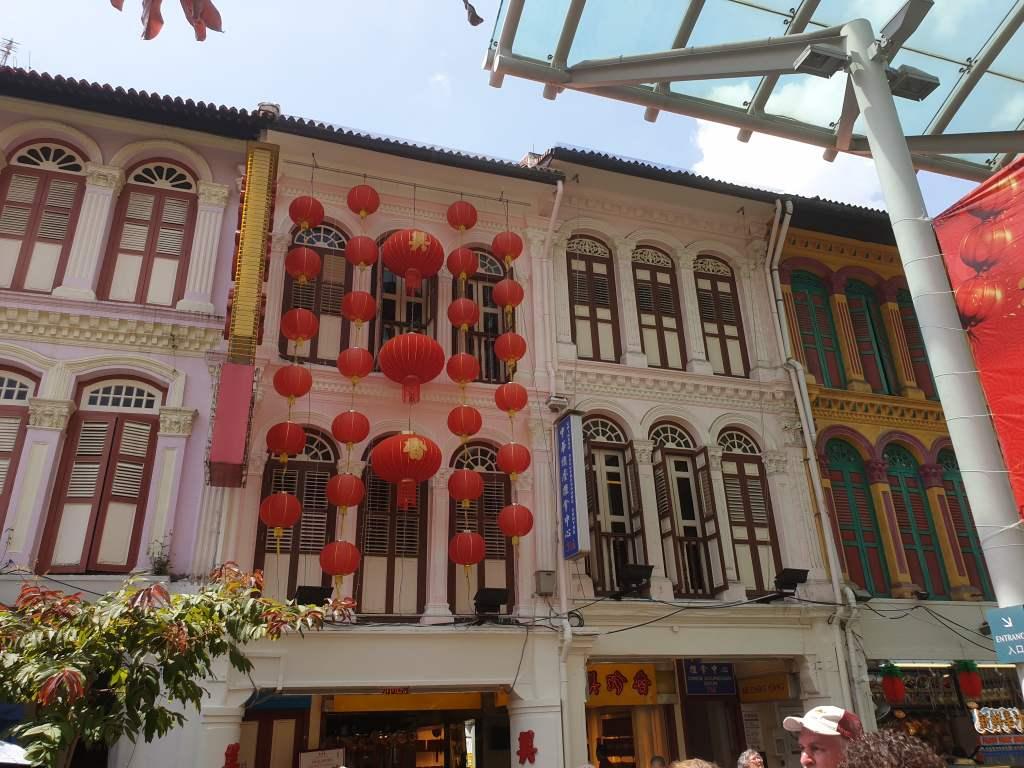 das Stadtviertel Chinatown in Singapur