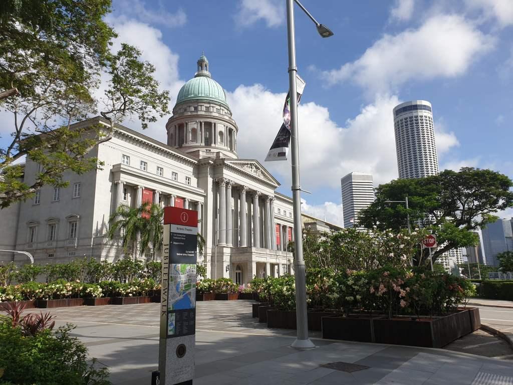 Kolonialviertel von Singapur