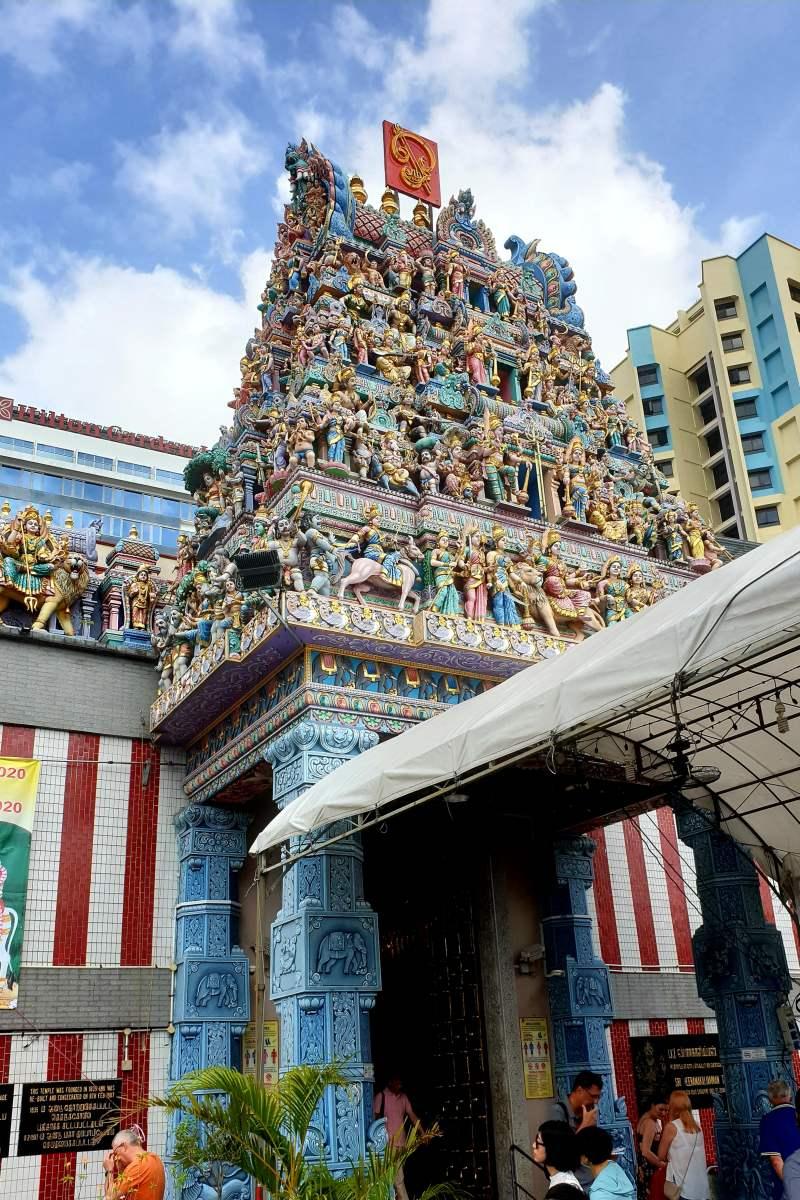 das Stadtviertel Litte India in Singapur