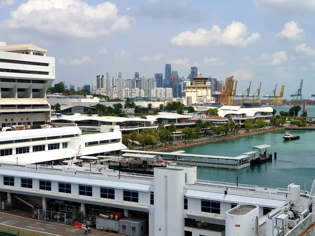 Cruise Center von Singapur