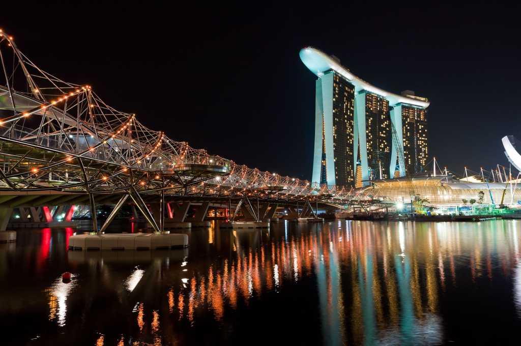 Das Marina Bay Sands in Singapur