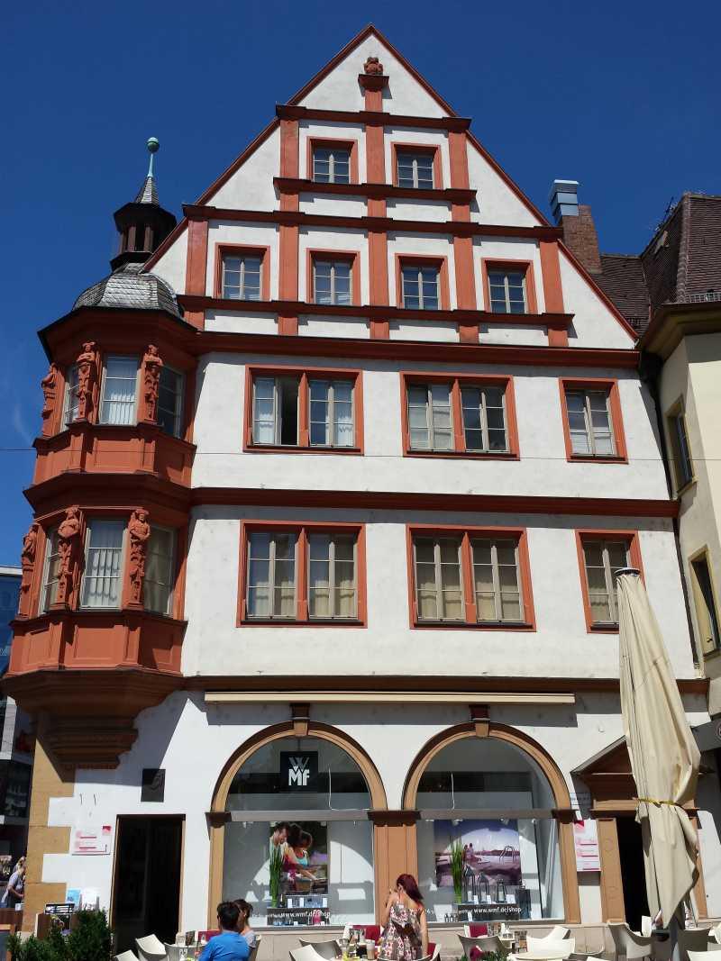 Haus am Markt in Würzburg