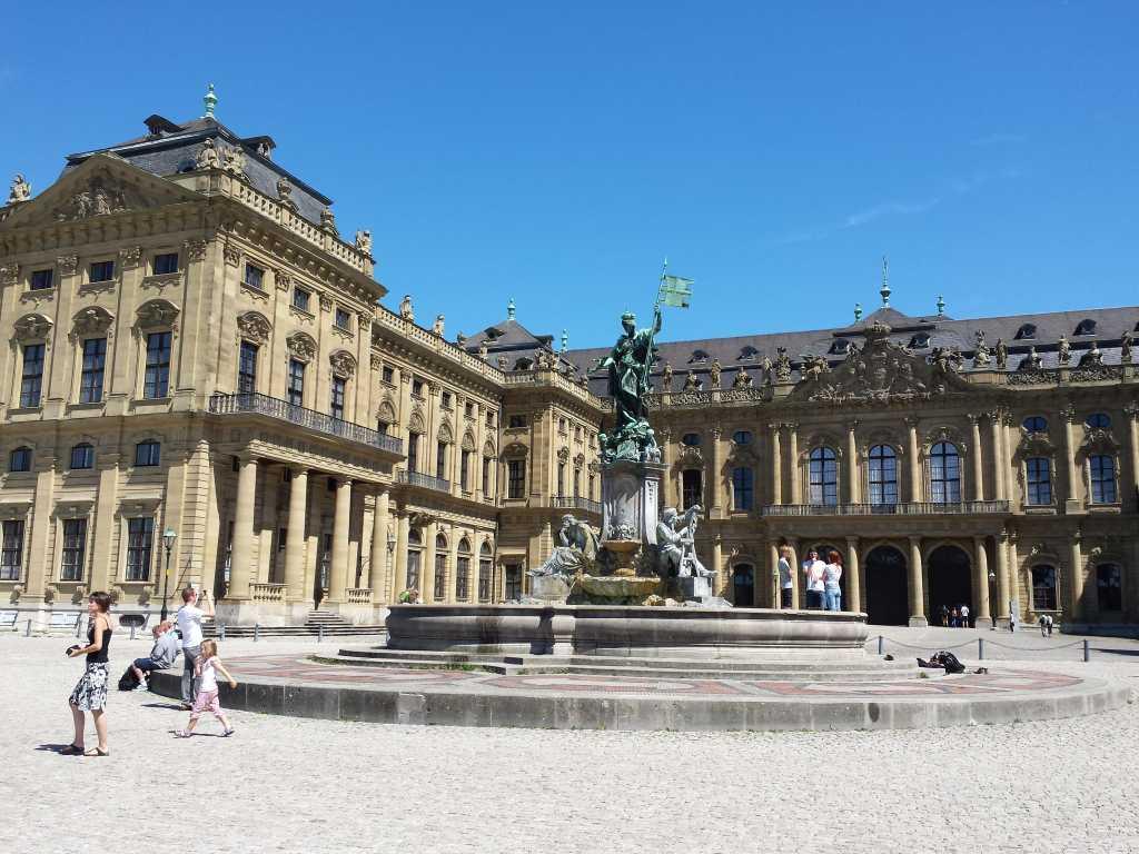 die Residenz von Würzburg