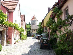 Weindorf im Imland von Würzburg
