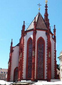die Marienkapelle in Würzburg