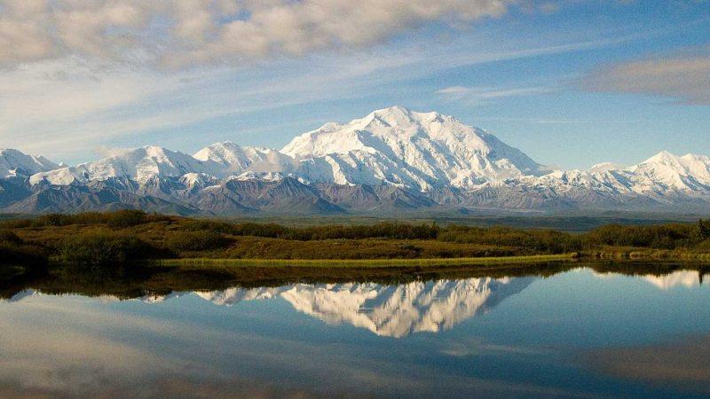 Panorama im Denali-Nationalpark im US-Bundesstaat Alaska