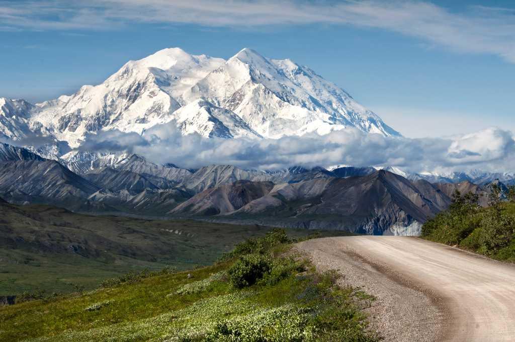 Alaska Range im Nationalpark Denali im US-Bundesstaat Alaska
