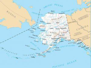 Alaska sprengt alle Vorstellungen. Nur ein winziger Buchteil des Bundesstaates ist durch Straßen erschlosssen.